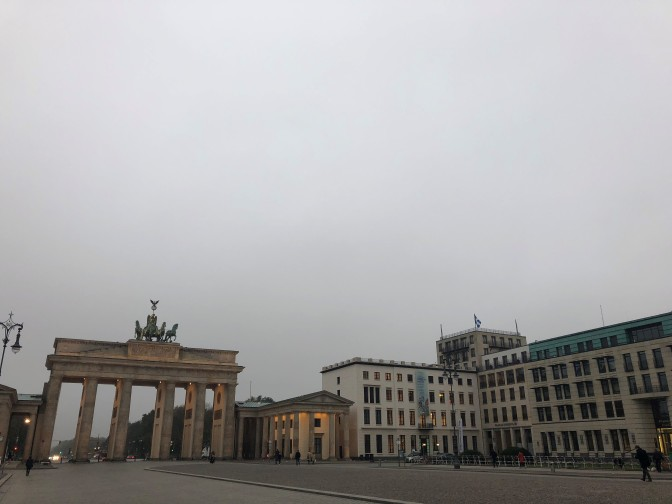 Berlin am Morgen